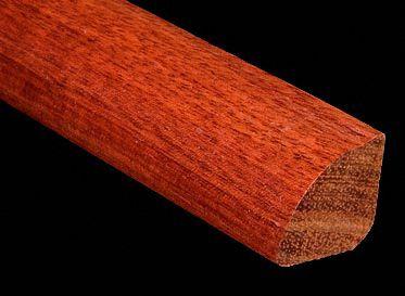 4 x 6.5LFT Bloodwood Shoe Molding~prblsm_sw