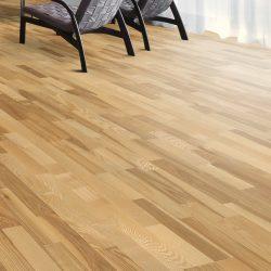 Kahrs engineered flooring ash kalmar 3 strip 1