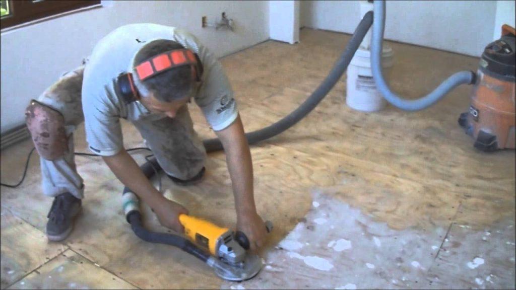 Job Preparation for installing a hardwood floor