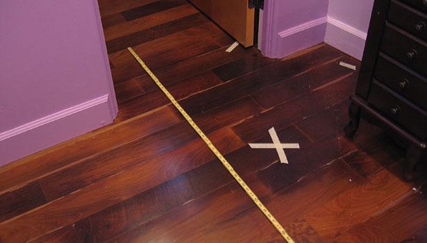 Inspecting a Floor