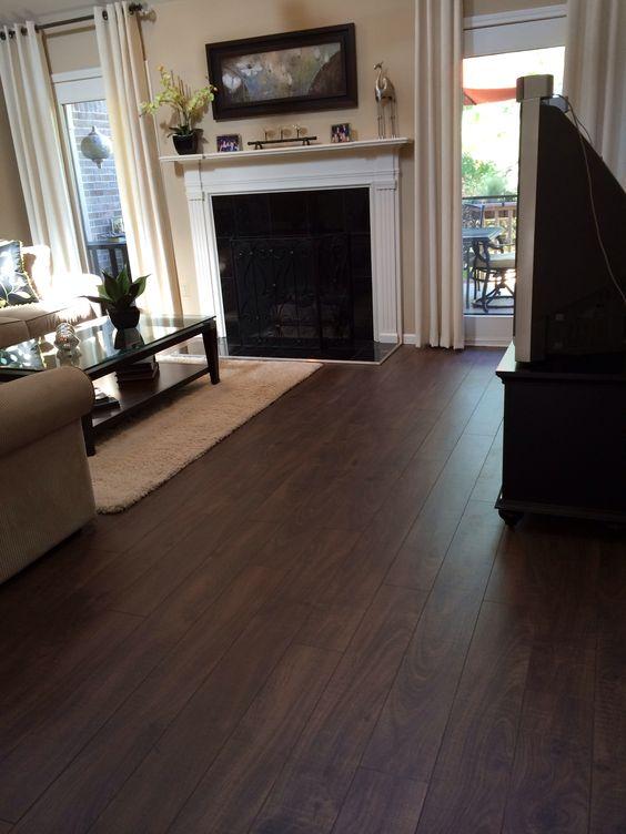 Laminate Flooring Walnut 2
