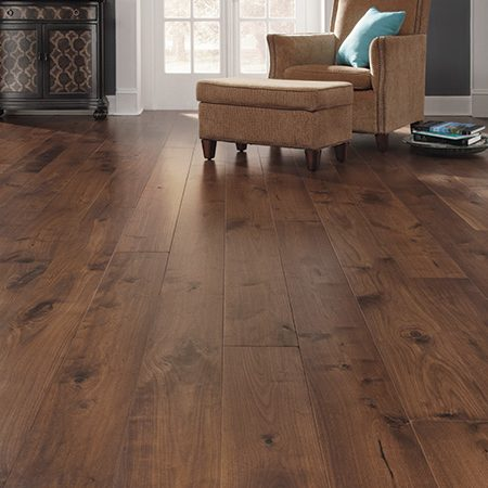 American Walnut Engineered Hardwood Flooring Mullican