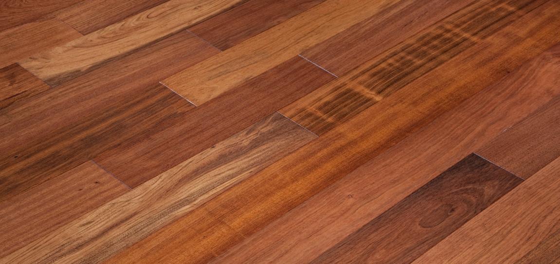 Brazilian Cherry Garrison Hardwood Floors Santa