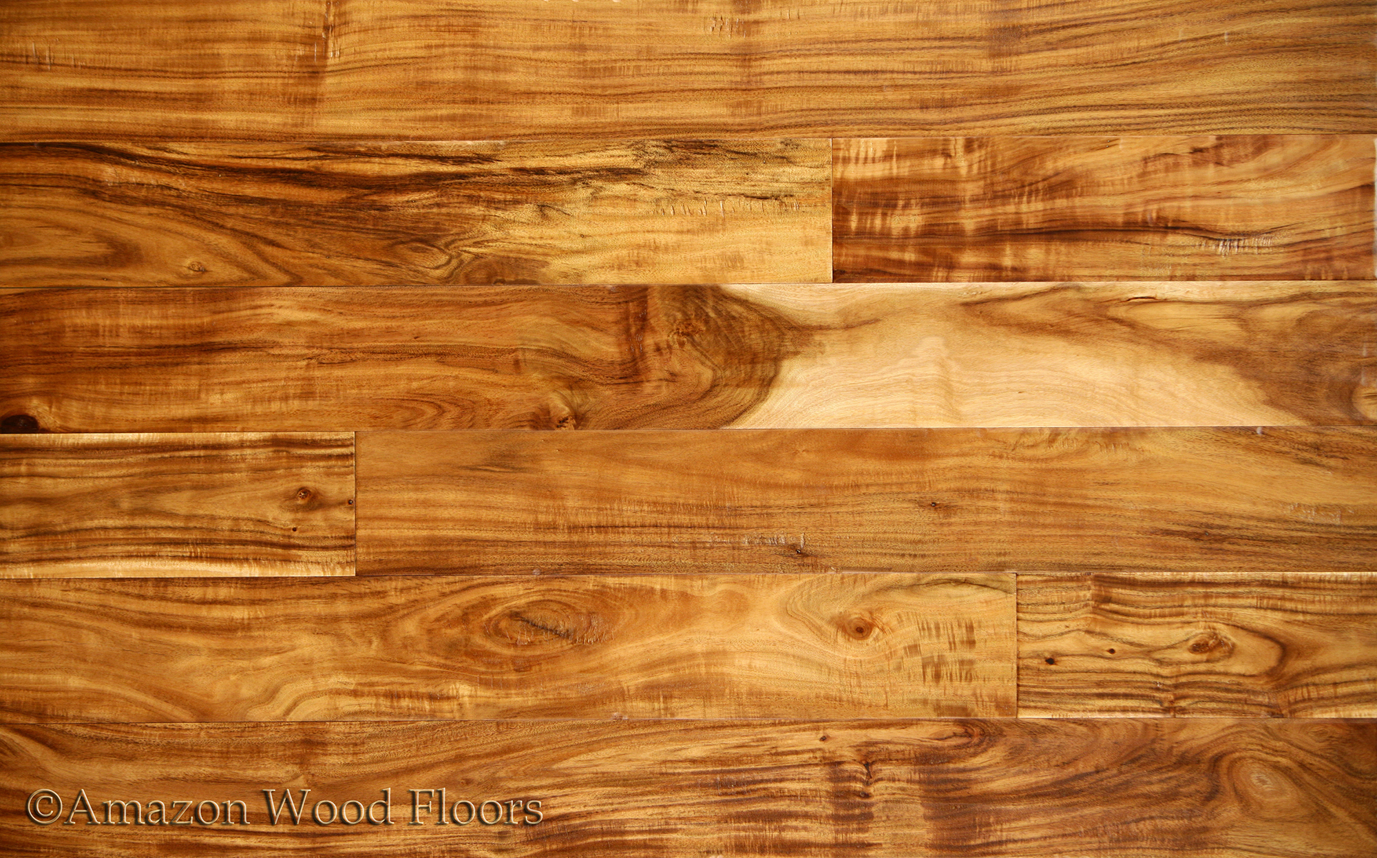 Exotic walnut acacia natural for Natural floors