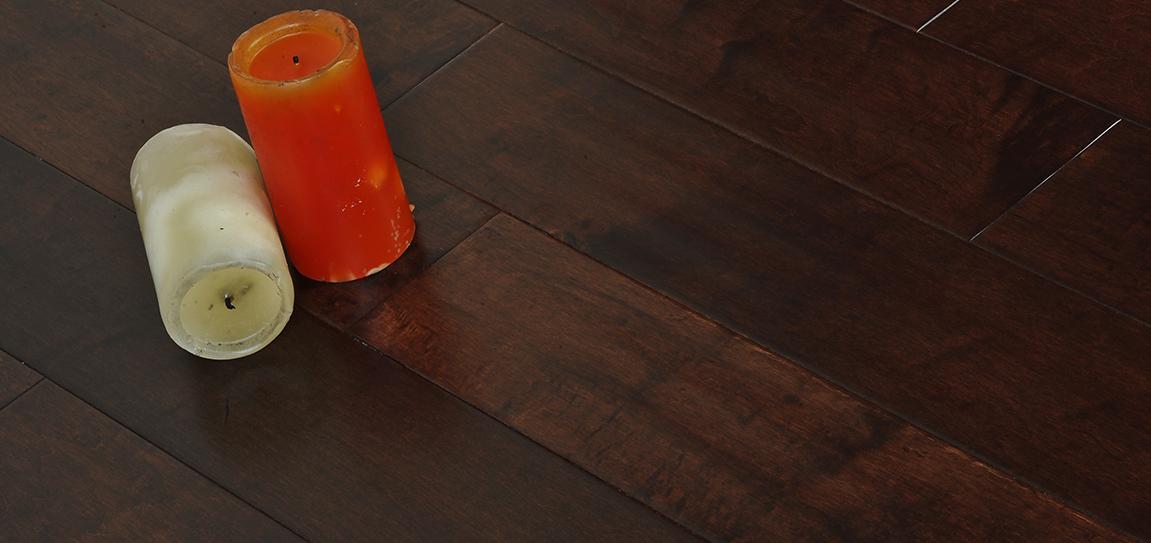 Tongue Groove Hevea Flooring Lafourche Hardwood Bargains Maple Espresso