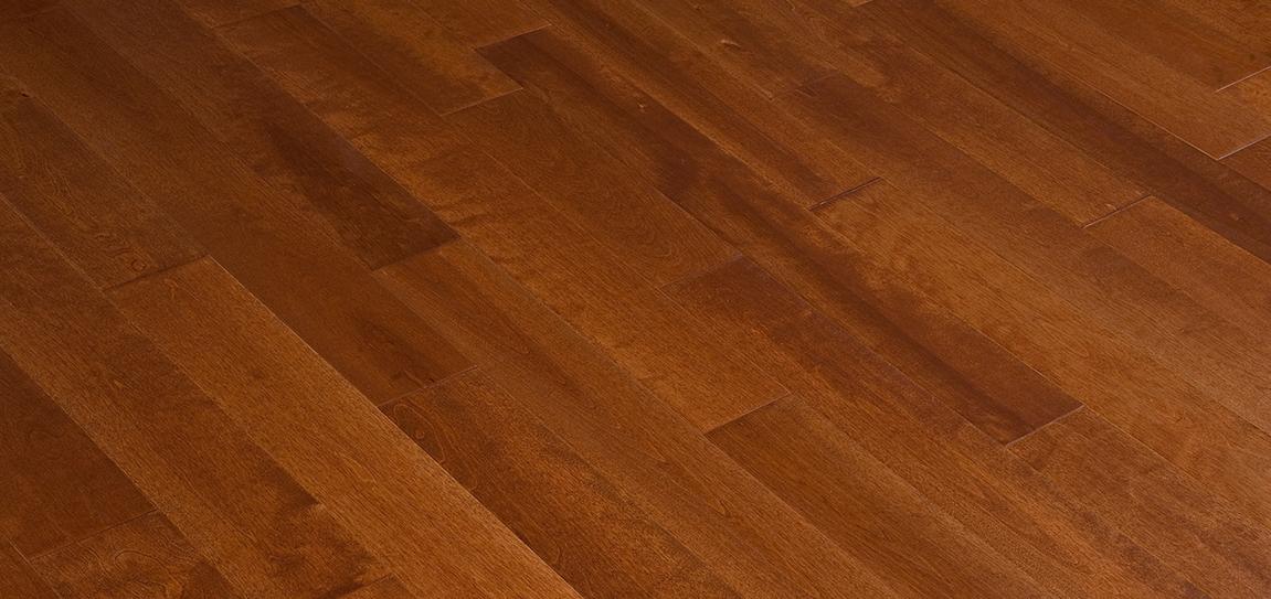 Mill run grade hardwood flooring birch wild cherry for Mill run flooring