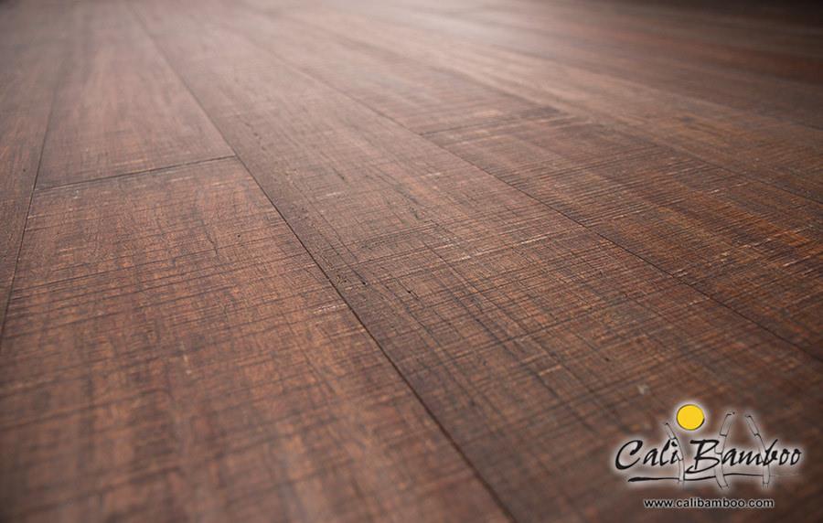 Rustic Barnwood Fossilized Bamboo Flooring Cali Bamboo