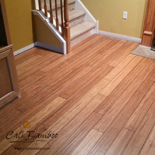 Installing Bamboo Flooring In Kitchen: Distressed Mocha Fossilized Bamboo Flooring