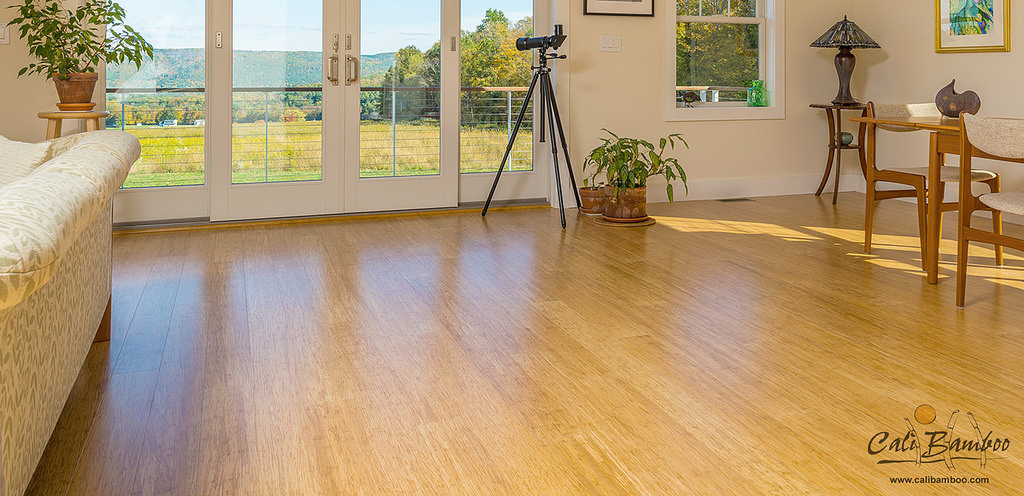 Natural Fossilized Bamboo Flooring Wide Click | Cali Bamboo Flooring ...
