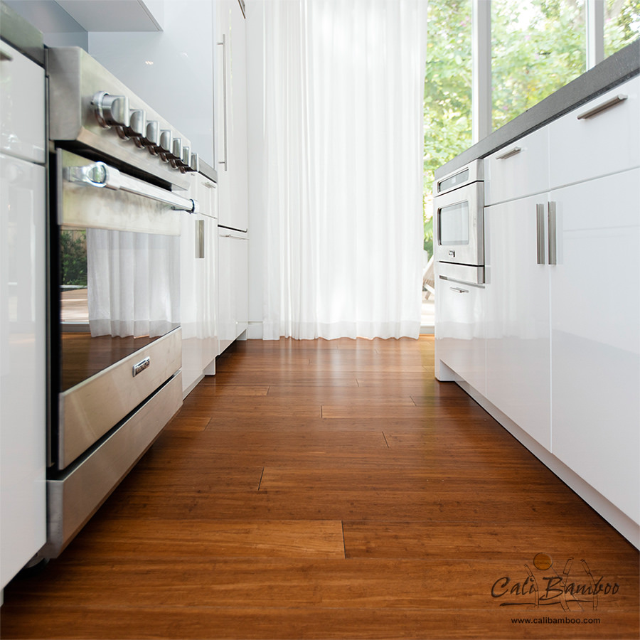 Java Fossilized Bamboo Flooring Standard Click Cali