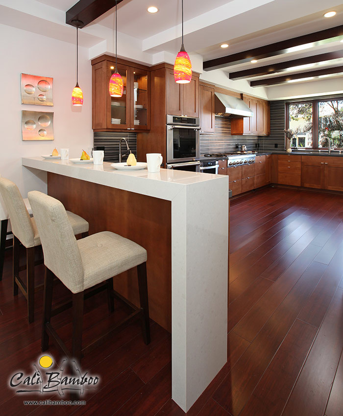 Installing Bamboo Flooring In Kitchen: Cognac Fossilized Bamboo Flooring