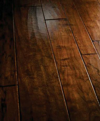 California Classic – Calistoga Cherry Hardwood Floor