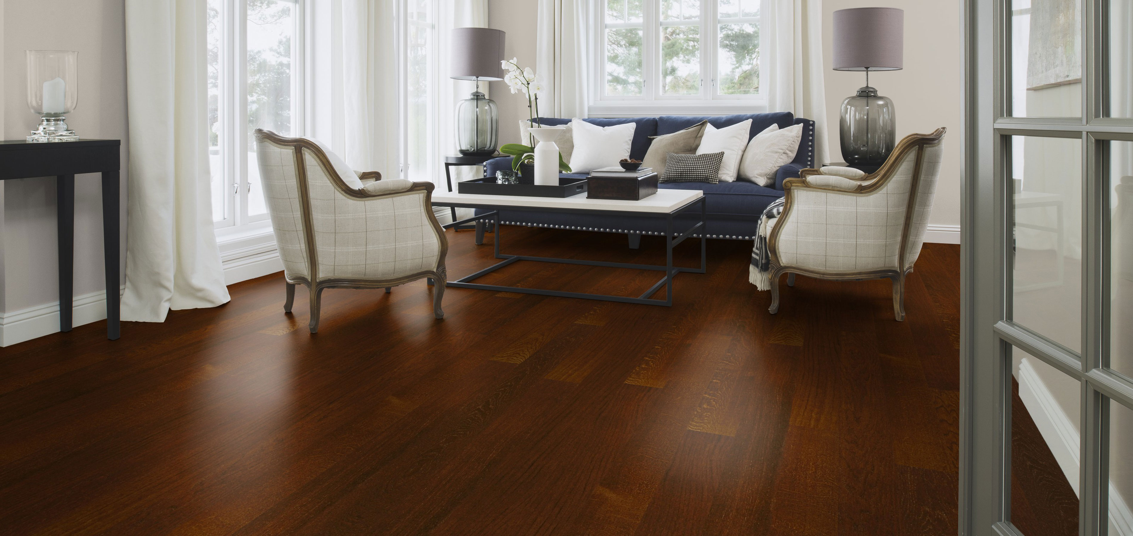 Boen flooring oak cocoa plank kapriz local hardwood for Wooden flooring dealers