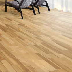 Kahrs engineered flooring ash kalmar 3 strip 1