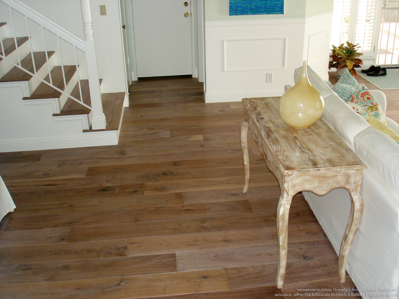 American Walnut Weathered Garrison Hardwood Floors