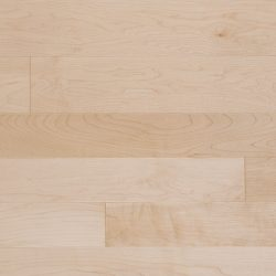 Solid maple hardwood flooring