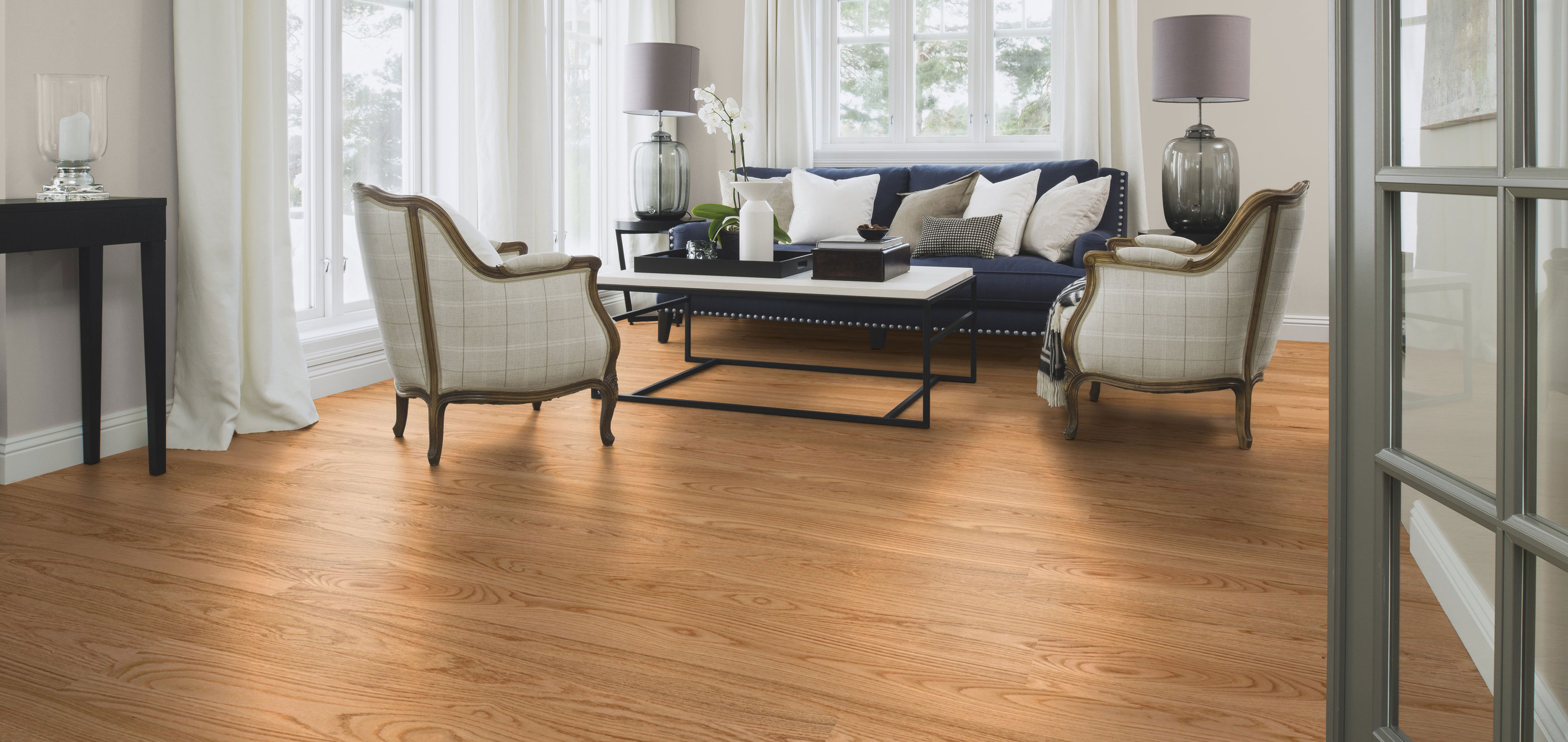 Boen Flooring Red Oak Plank 1