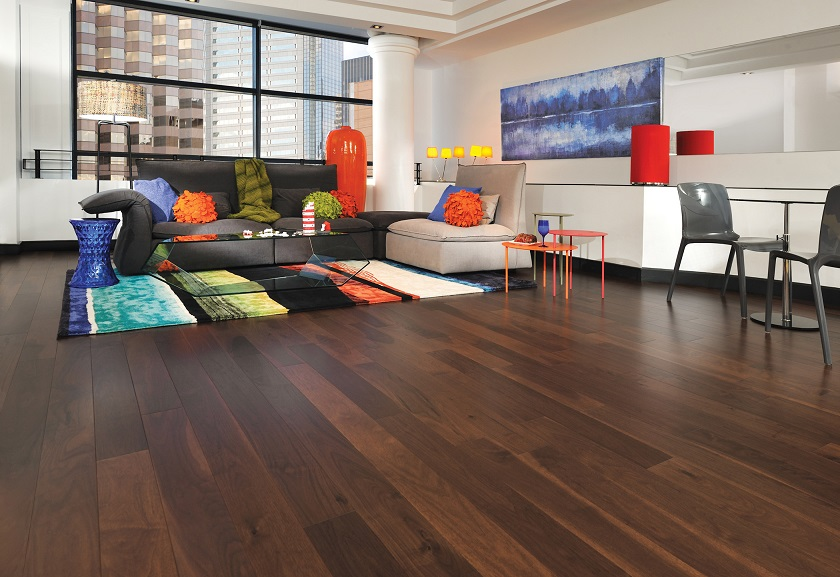 knotty-walnut-colorado-mirage-hardwood-floors - Knotty Walnut Colorado Mirage Hardwood Floors - Flooring San Jose