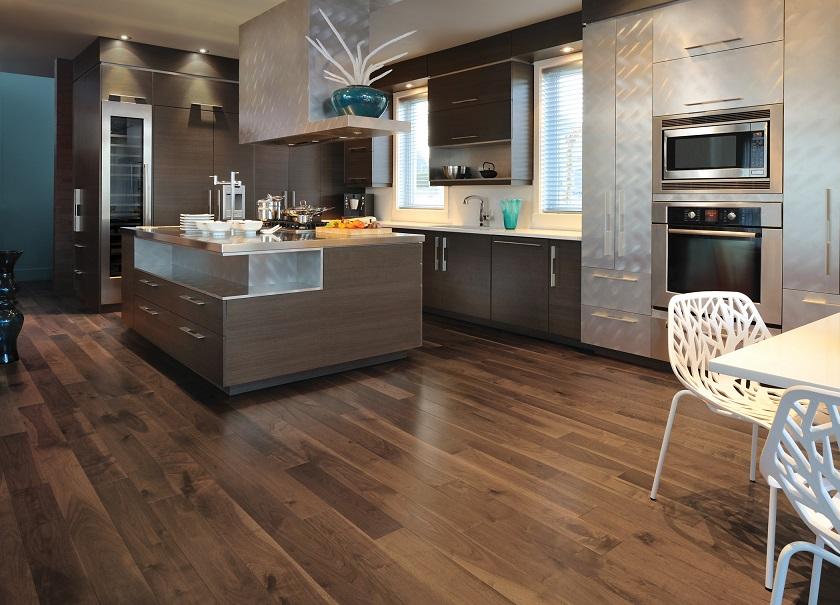 Knotty Walnut Savanna Mirage Hardwood Floors