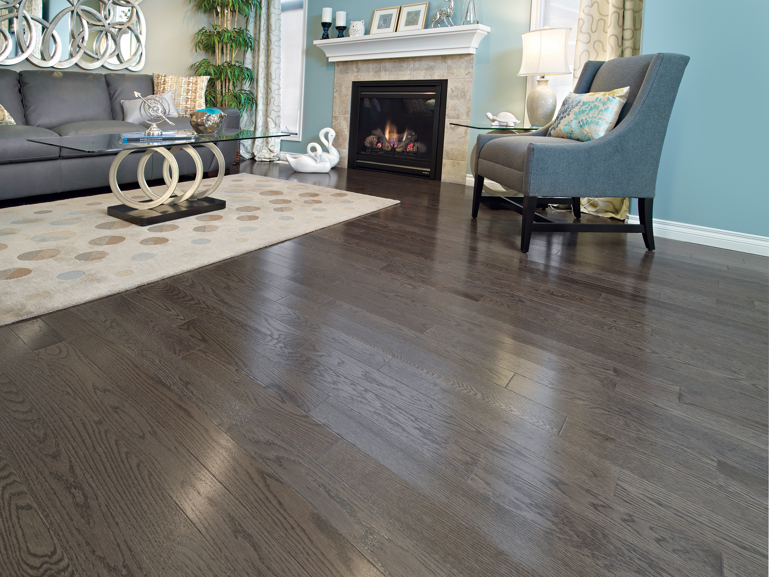 Red oak charcoal mirage hardwood floors call for special for Mirage wood floors
