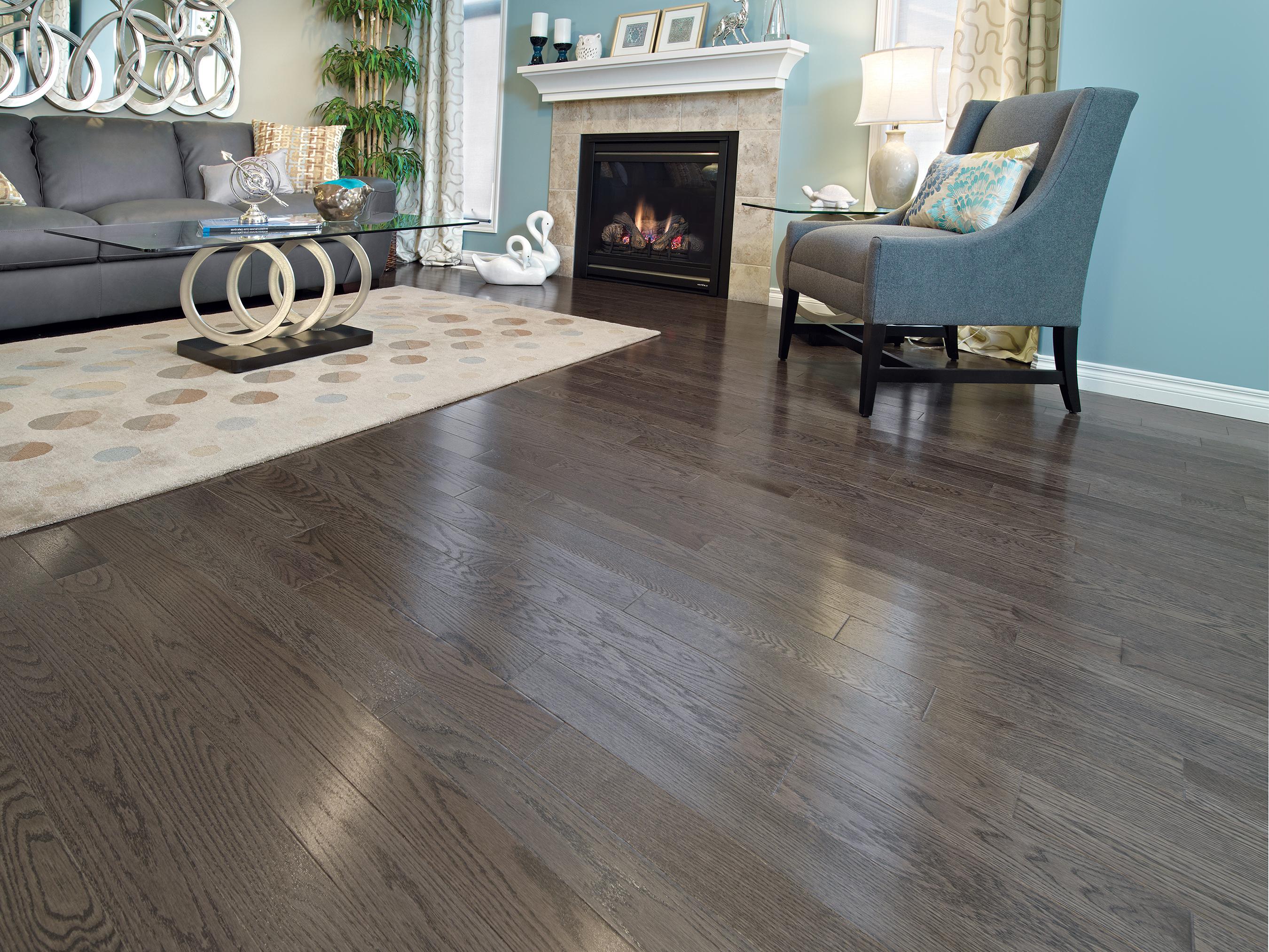 Red Oak Charcoal Mirage Hardwood Floors