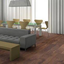 Woodline Parquetry Walnut Hardwood Flooring.