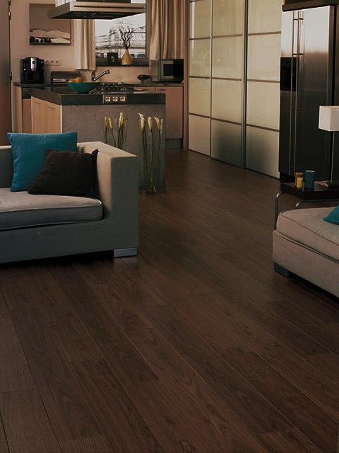 Laminate Flooring Walnut