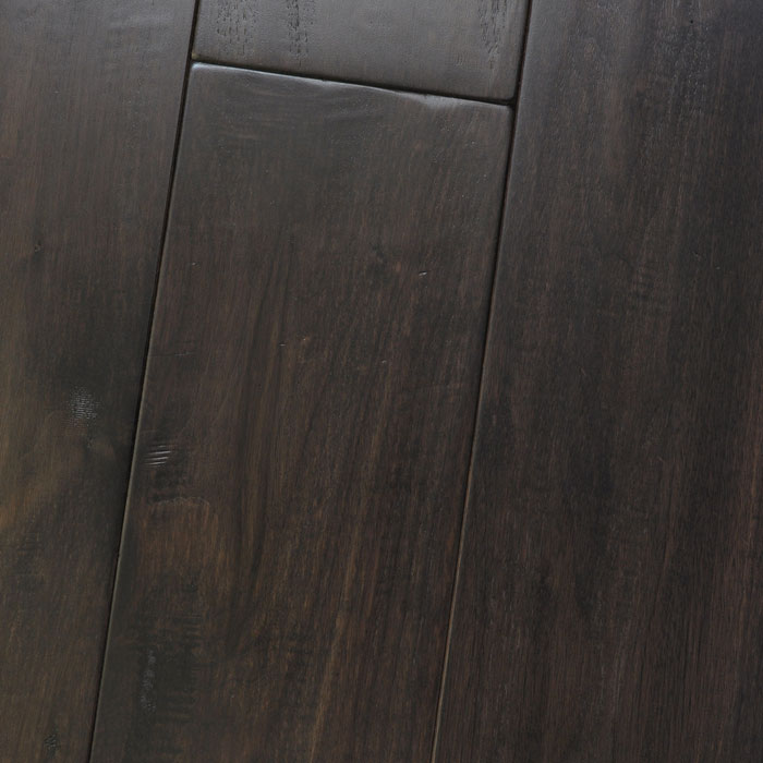 Black Walnut Dusky Amish Soft Scraped Flooring Store San