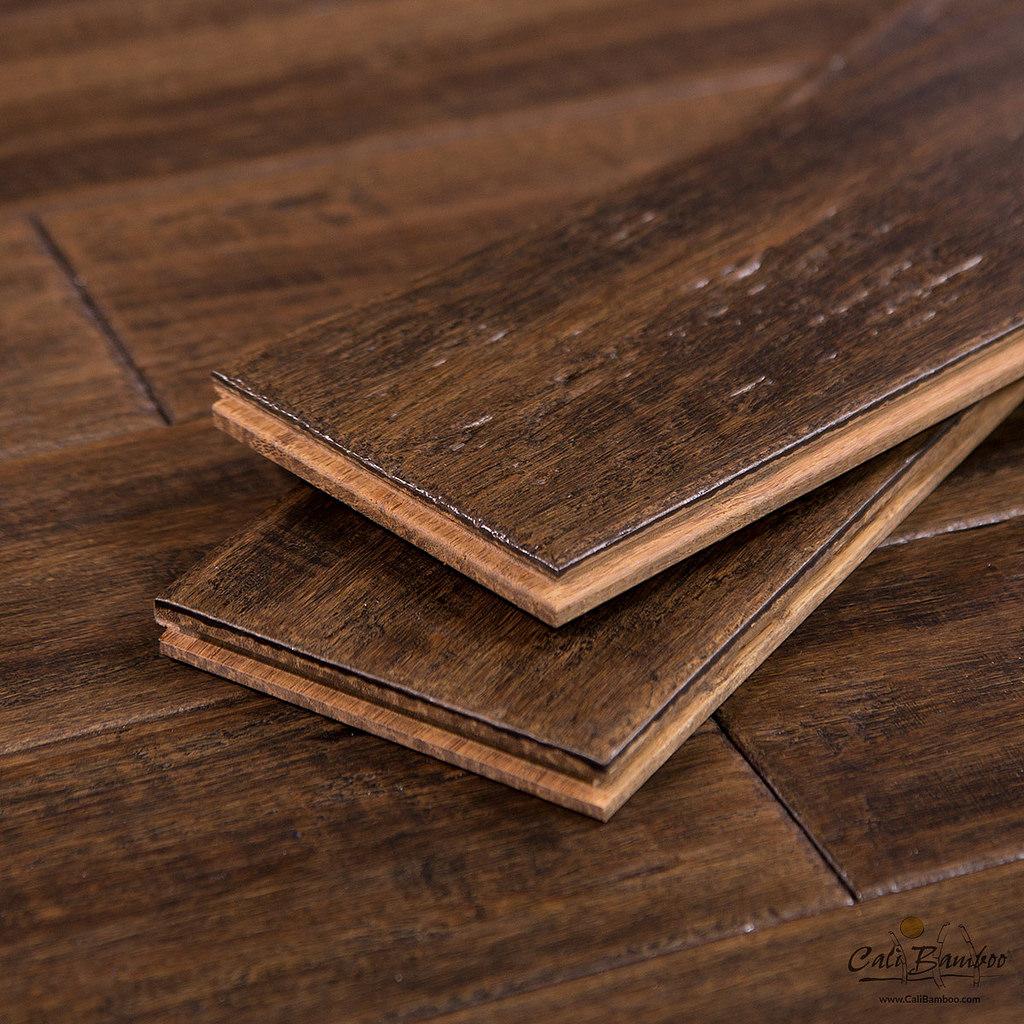 Vintage Port Fossilized Bamboo Flooring