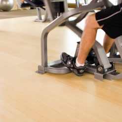 Teragren Studio Bamboo Flooring in gym club setting