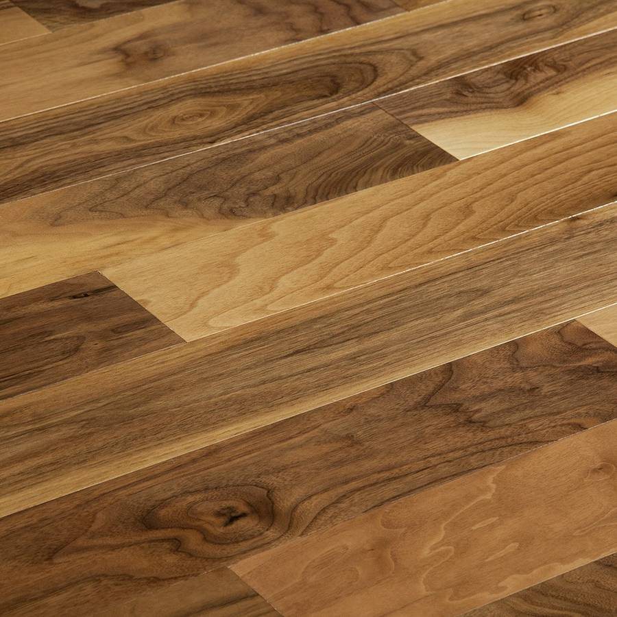 American walnut engineered flooring matek santa clara for Walnut wood flooring